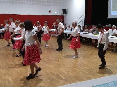AG 2019 de ll`association `Retraite Sportvie Bainaise` - Démonstration de danse